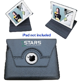 360° Rotating Leather Case For iPad2 &3 ( IPA02)