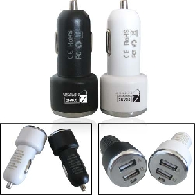 USB 2 Port Car Charger Adaptor (UPD11)