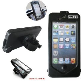 """Mountie""-Waterproof and Shockproof Bike Mount Holder Case for iPhone 5 (IPD514)"