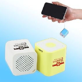 Portable Mini-Wireless Speaker with Built-In Selfie Snapper (SP-29)