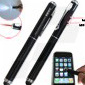 3-in-1 Stylus w/Laser & Flashlight (TSS04)