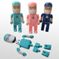 Doctor Shape Memory Stick Flash Drive(MS523CST-Doctor)